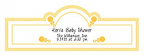 Child's Play Baby Billbord Cigar Band Labels