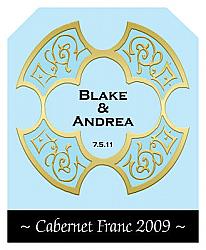 Medici Wine Wedding Labels