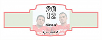 Collegiate Graduation Buckle Cigar Band Labels