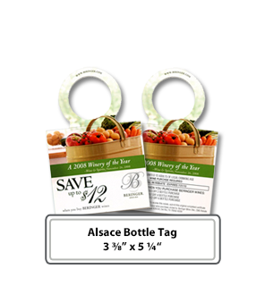 custom printed wine bottle tags