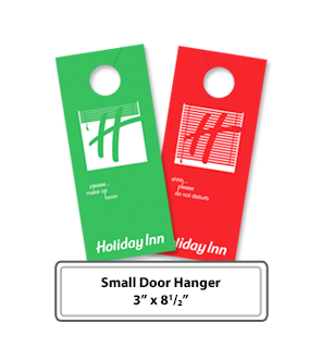 Small Door hanger printing