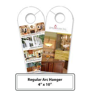 Online Print Services - Regular Arc Hangers