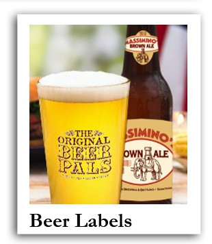 Personalized Beer labels and beer stickers
