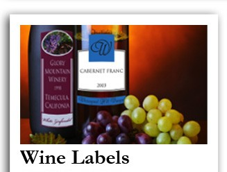 Personalized Wine Labels, Custom Wine Labels